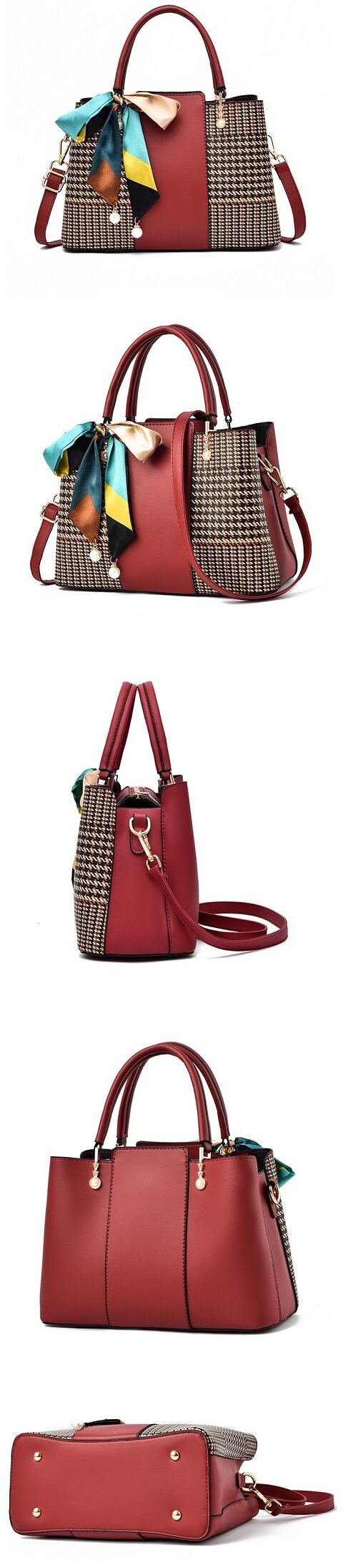 Lorelai Sosa handbag can be transformed from a crossbody bag to a top-handle bag to suit your ensembles.