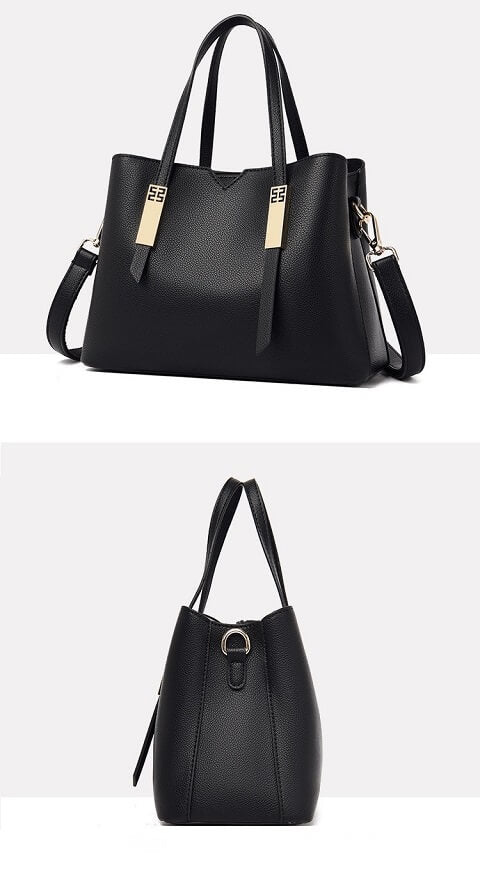 Lizeth Mcbride handbag can be transformed from a crossbody bag to a top-handle bag to suit your ensembles.