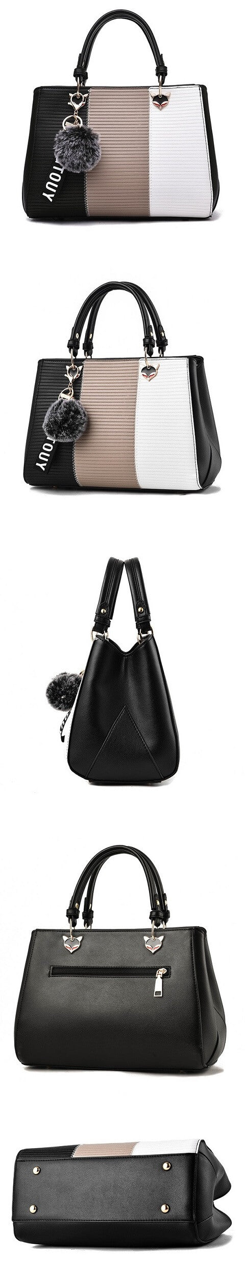 Natalia Atkinson handbag can be transformed from a crossbody bag to a top-handle bag to suit your ensembles.