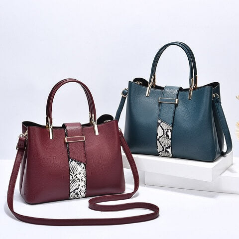 Sasha Barnett handbag can be transformed from a crossbody bag to a top-handle bag to suit your ensembles.