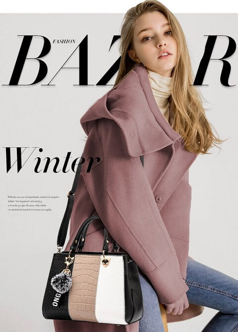 Erika Todd handbag can be transformed from a crossbody bag to a top-handle bag to suit your ensembles.