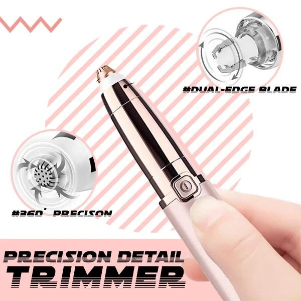 Trimax™ Electric Eyebrow Trimmer For Women - Eyebrow Epilator And Cutter Pen is an innovative tool designed to remove unwanted facial and body hair and shape eyebrows without waxing, threading, or tweezing.