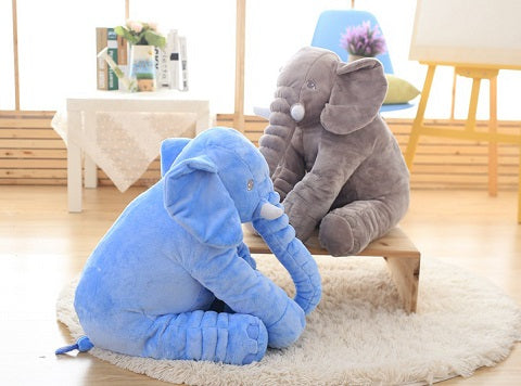 Our BabyCare™ Elephant Plush Toy Pillow is very adorable animal designed pillow especially for kids! Everyone is in love with this soft, comfy, cuddly elephant plush toy pillow!