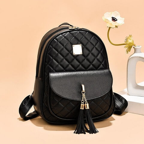 A truly useful fashion backpack that can store and organize everything you need for a getaway.