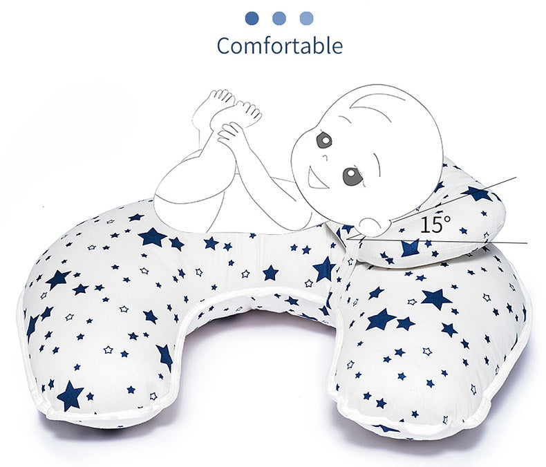 Support for you and baby. BabyCare™ Nursing Breastfeeding Baby Pillow - Feeding And Infant Support Pillow ergonomically supports you while nursing or bottle-feeding.