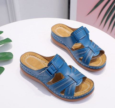 BestWalk™ Orthopedic Bunion Corrector Shoes - Bunion Sandals For Women are specially developed with a three arch support design and a soft insole, offer an excellent combination of a classy design and comfortable support.