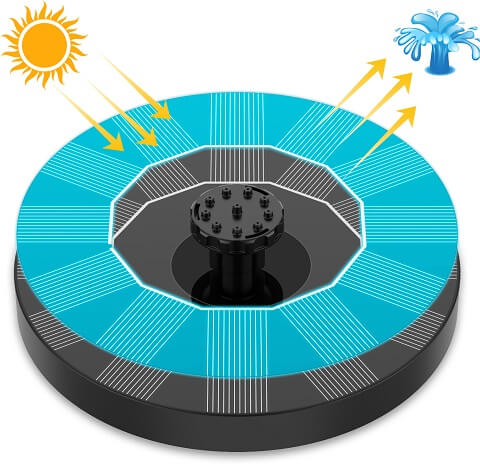 Give your backyard a touch of nature with the Taiyo™ Solar Powered Bird Bath Water Fountain Pump. Taiyo™ will instantly turn any body of water into a relaxing birdbath. It requires no wiring and is powered completely off the sun! Great for attracting birds and give them a place to drink and wash. It makes a great feature in any pool, backyard, fish tank, pond, or existing birdbath.