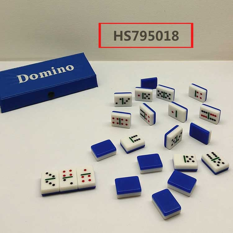 1.0 DOMINO,red/green/blue 3color, table game, educational toy, Yawltoys