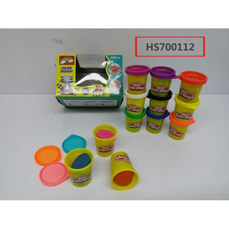 12 color mixed, Color dough, Educational toys, Yawltoys