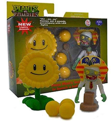New Plants vs Zombies with Sound and Light - Sun Flower
