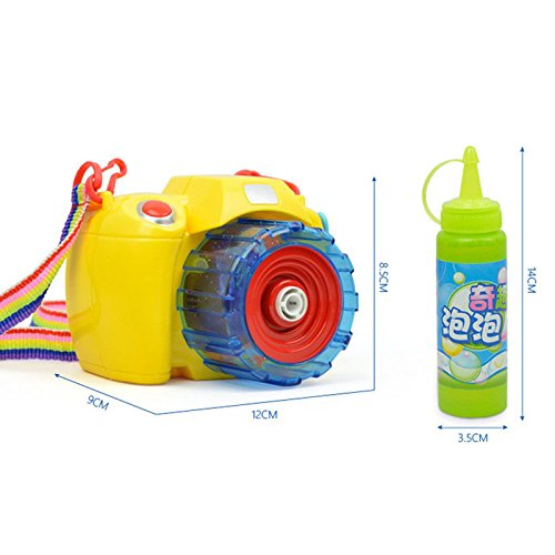 Estore Bubble Gun Blower Machine Blaster- Camera Shape - Best Bubbles Machine Toy for Kids outdoor play