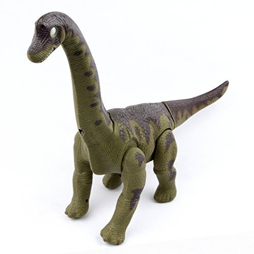 Sun Cling? Electronic Toys Green Walking Brachiosaurus Dinosaur by Sun Cling
