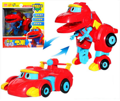 New Cartoon Characters Robot Dinosaur Rescue gogo dino mini transformer Rex