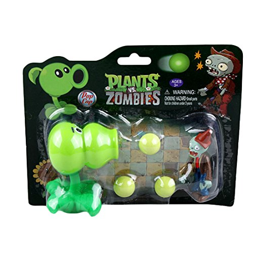 Toyswill Plants VS Zombies Gourd Shooter Plastic Toy for Fans