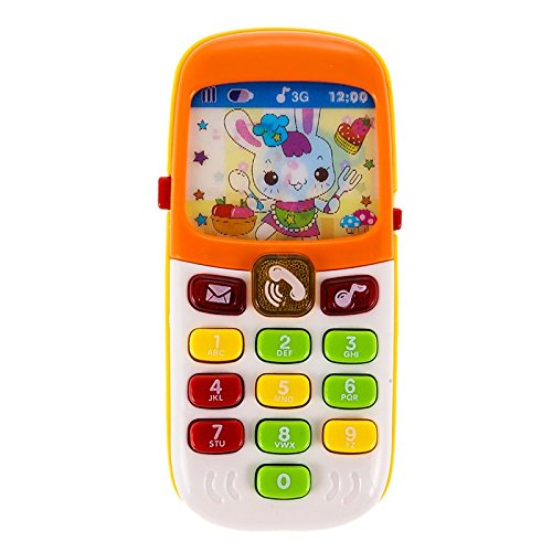 Electronic Toy Phone Kid Mobile Phone Cellphone Telephone Educational Toys