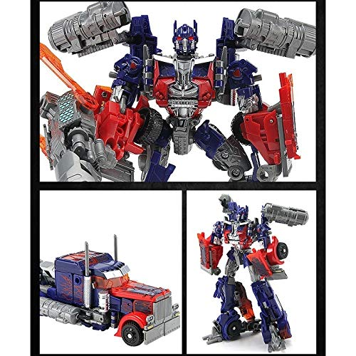 Movie 4 Super Leader Powermaster Optimus Prime Bumblebee Classic Car Robots Toy Kids Gift