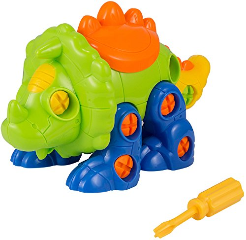 Dinosaur Toys Take Apart Toys Dinosaur for Kids Toddlers Boys and Girls - Set of 3 Toy Dinosaurs