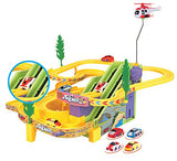 |UPDATED EDITION| Track Racer Racing Cars Fun Toy for Kids (NO Music)