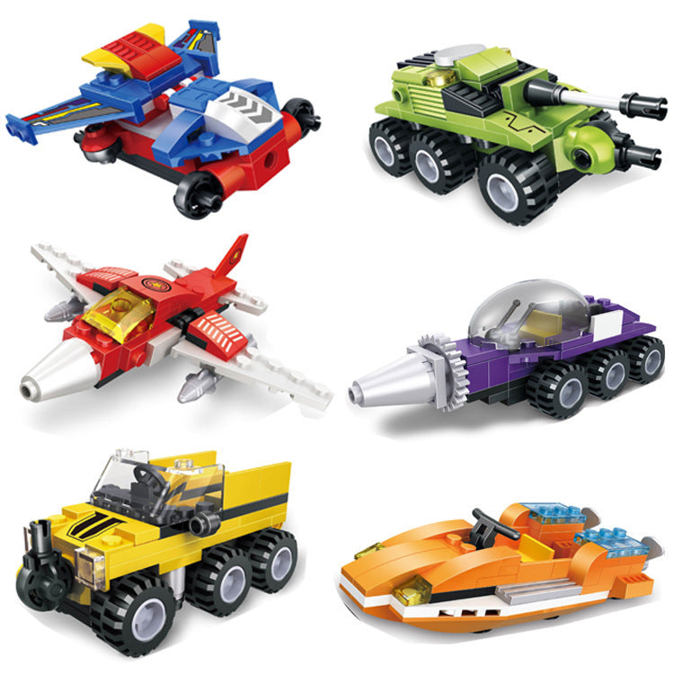 Children's toys _ adicolo boy Lego blocks toys children body asse...