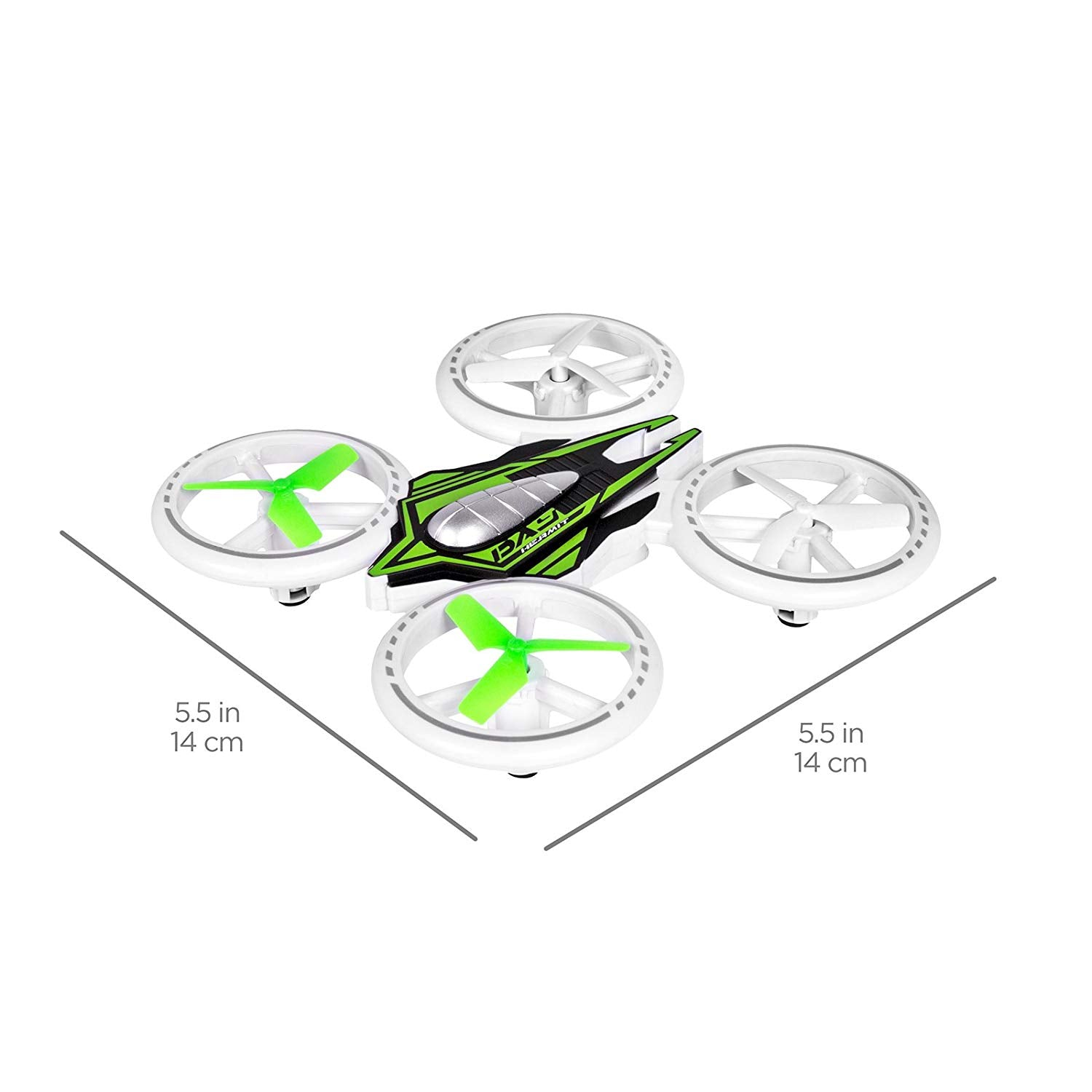 2.4GHz Remote Control Light-Up LED RC Drone Quadcopter UFO Star Ship w/ Altitude Hold -Multicolor