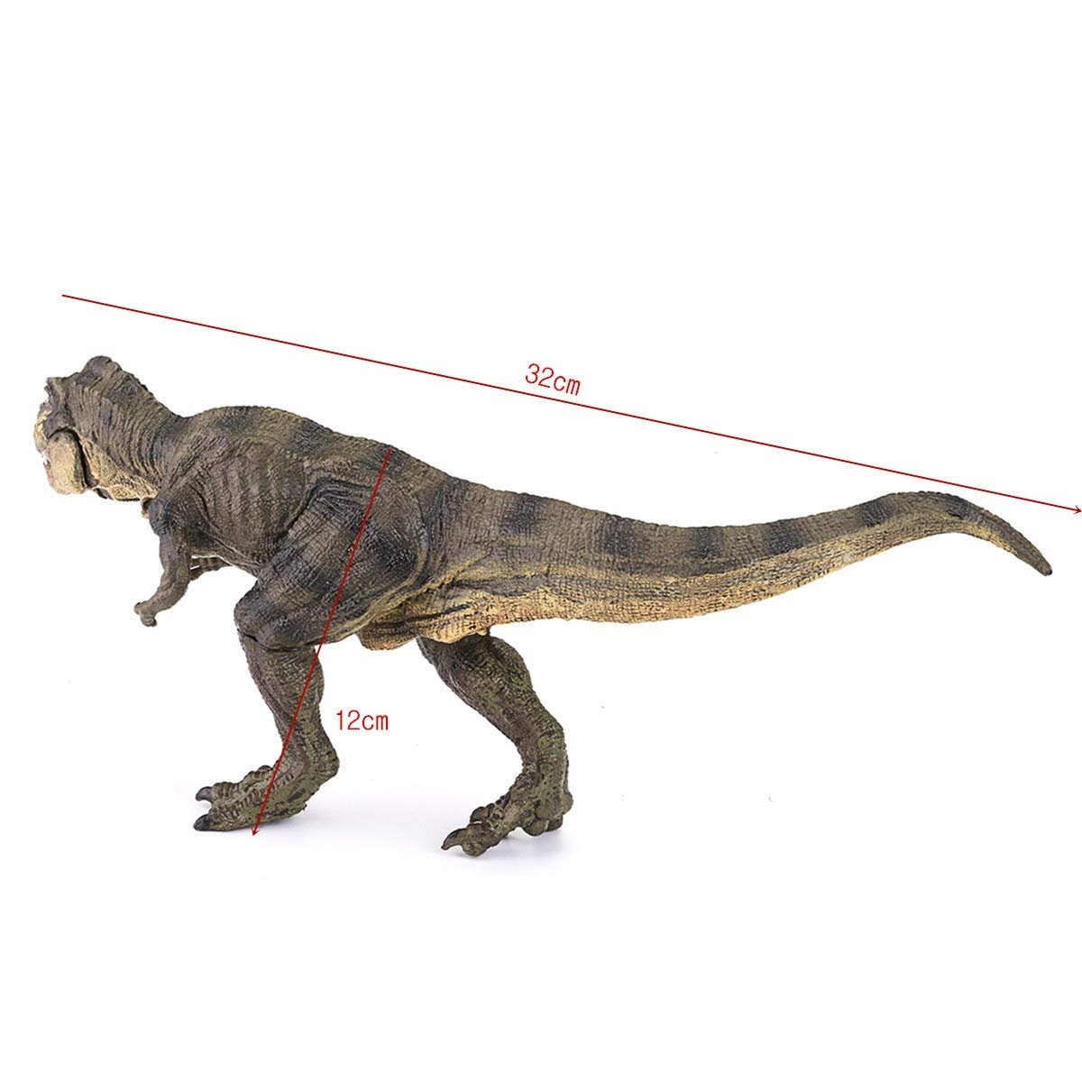 Tyrannosaurus Rex Dinosaur Plastic Toy Model Birthday Kids Gift Children Toy