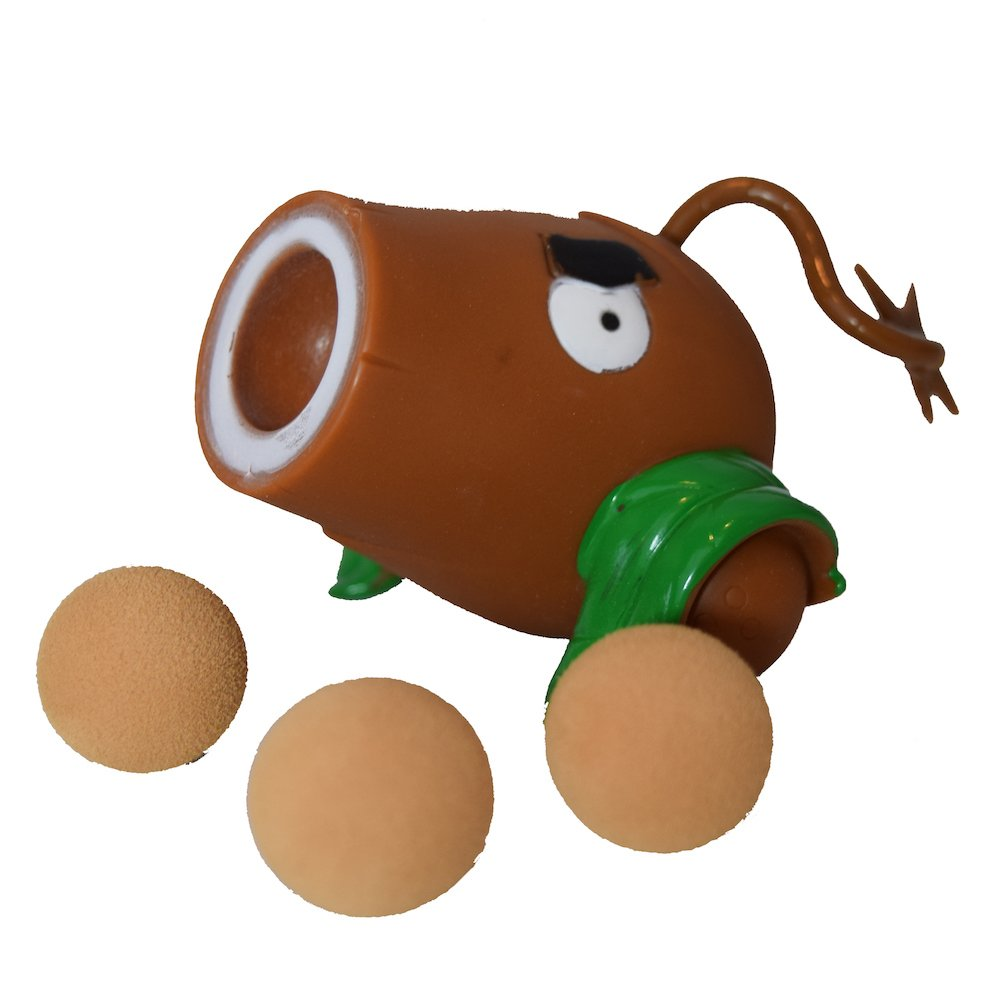 Party PVZ Plant Coconut Cannon Ball Popper Zombie Action Figure Toy