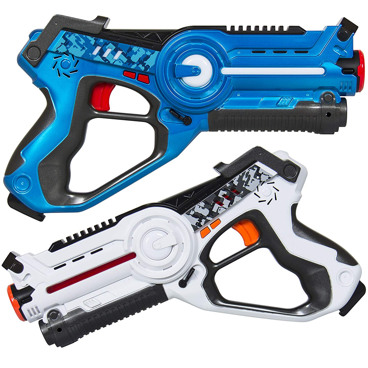 Kids Interactive Blaster Tag Set w/ Multiplayer Mode, 2 Pack