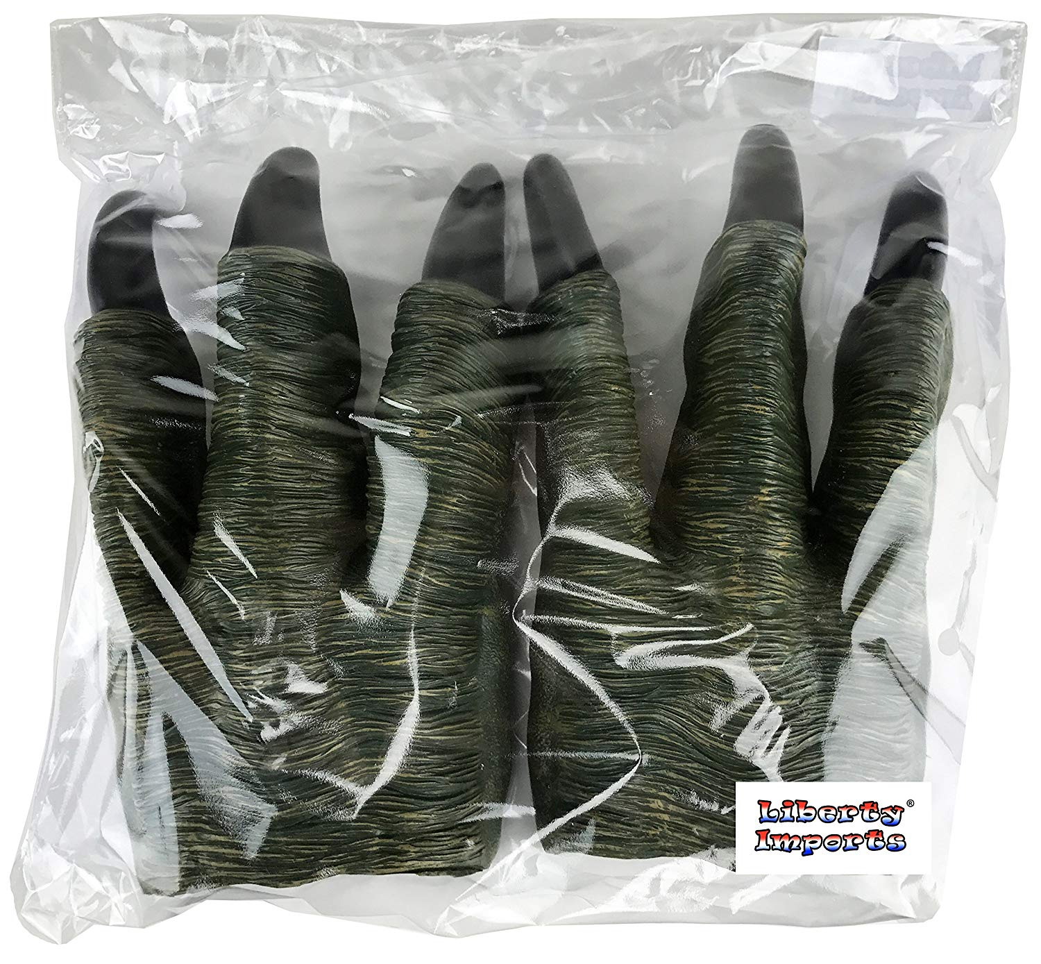 Set of 2 Dinosaur Oversized Dino Velociraptor Claws for Kids