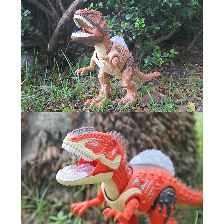 Animals and plants / simulation models - children's electric dino...
