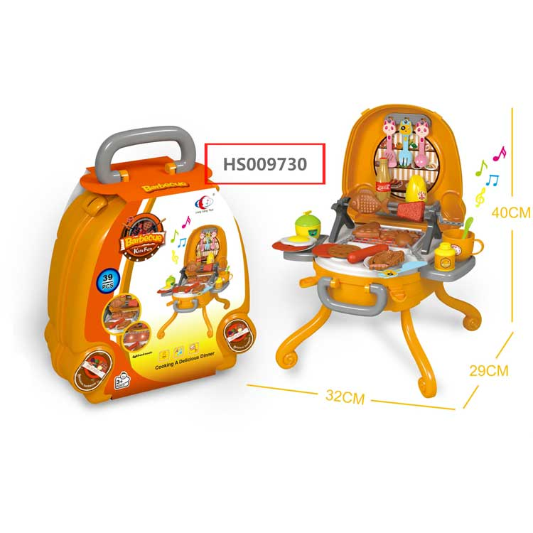Barbeque play set, Kitchen play set, Yawltoys