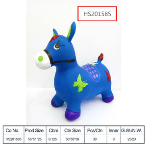 HS201585, Yawltoys, wholesale ride-on bouncy animal / Inflatable Jumping animal toys