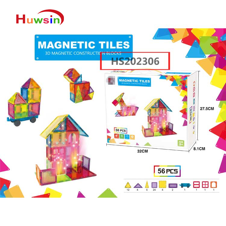 HS202306, Yawltoys, Magnetic magic cube,magnetic building block, Educational toy