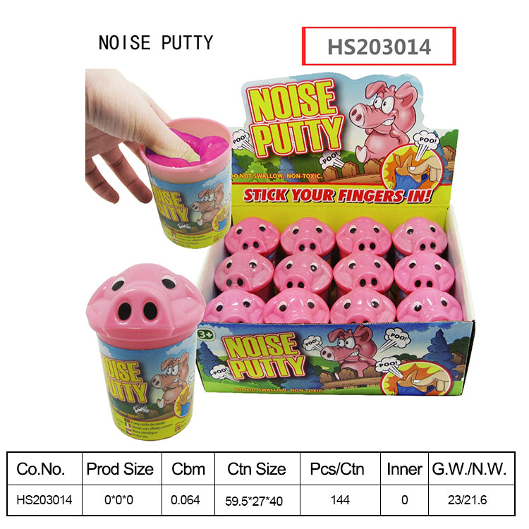 HS203014, Yawltoys, Fart noise putty break wind noise putty toys funny putty slime