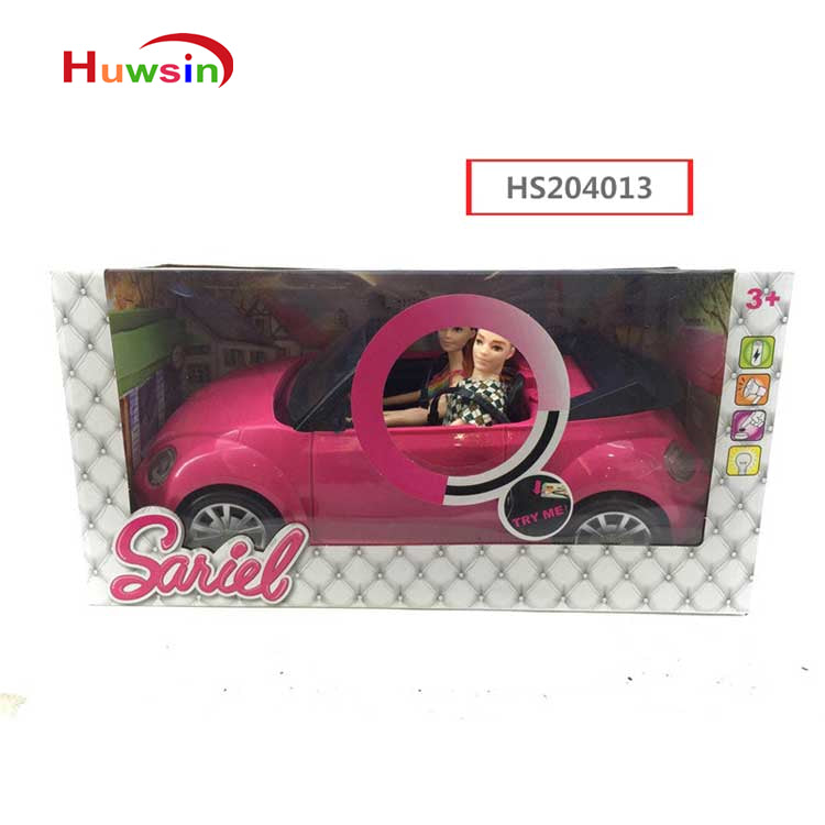 HS204013, Yawltoys, 11.5 inch doll ride on car, sound&light, girl toy