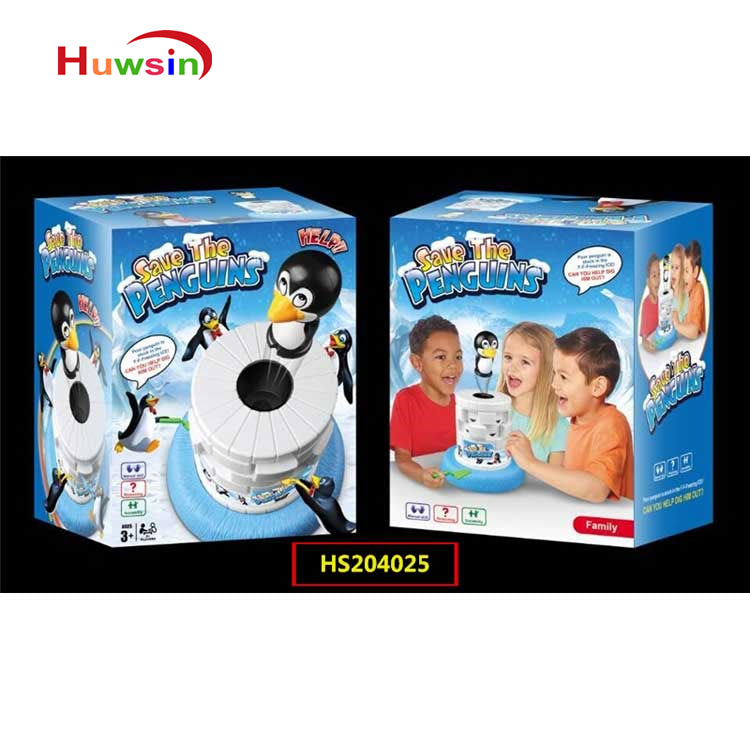 HS204025, Yawltoys, Save the penguins, Table game, Educational toy