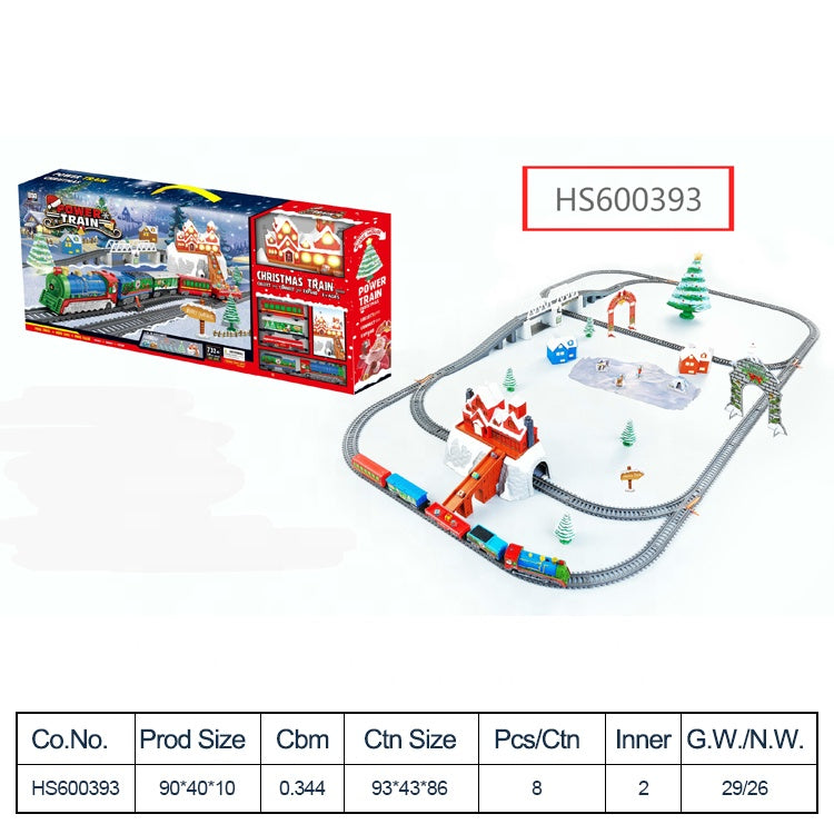 HS600393, Yawltoys, Wholesale Electric Building Block Train Sets DIY for kids