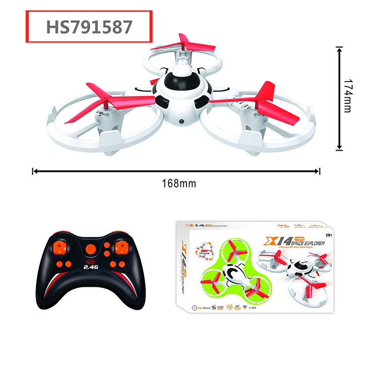 HS791587, Yawltoys, High quality plastic RC drone with remote control