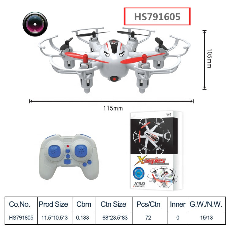 HS791605,Yawltoys, Remote Control Drone 6-axis Smart toy plane