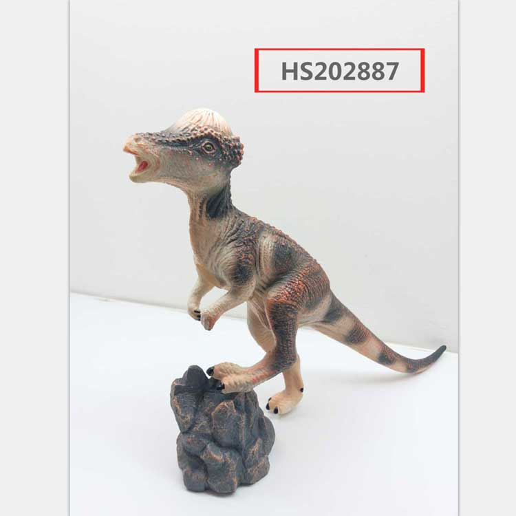 Hot sale dinosaur soft rubber toys for kids with multi use, Educational toy, Yawltoys