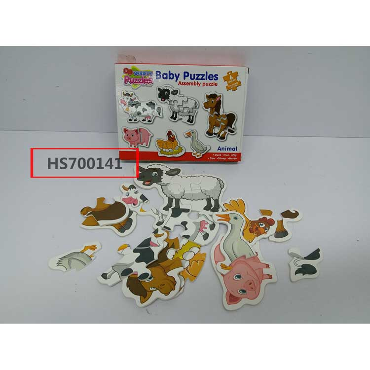 Puzzle games, animal assembly puzzle, Yawltoys