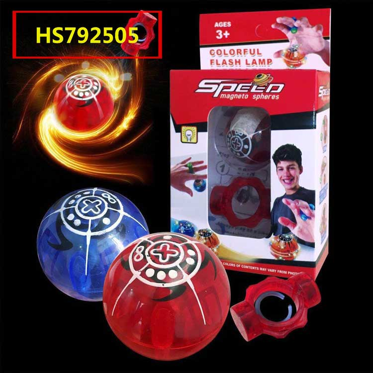 Speed magneto spheres, Spinning top, Yawltoys