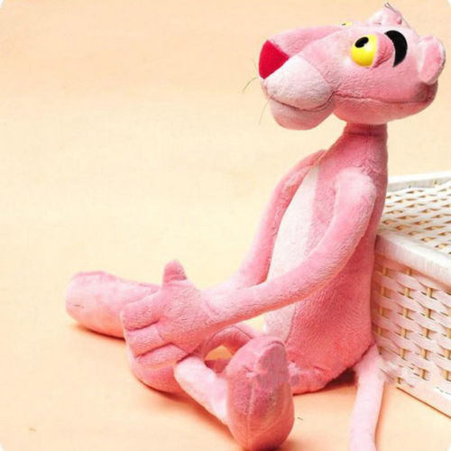 Lovely Children Gift Naughty Pink Panther Stuffed Toy Plush Doll Plaything 40CM