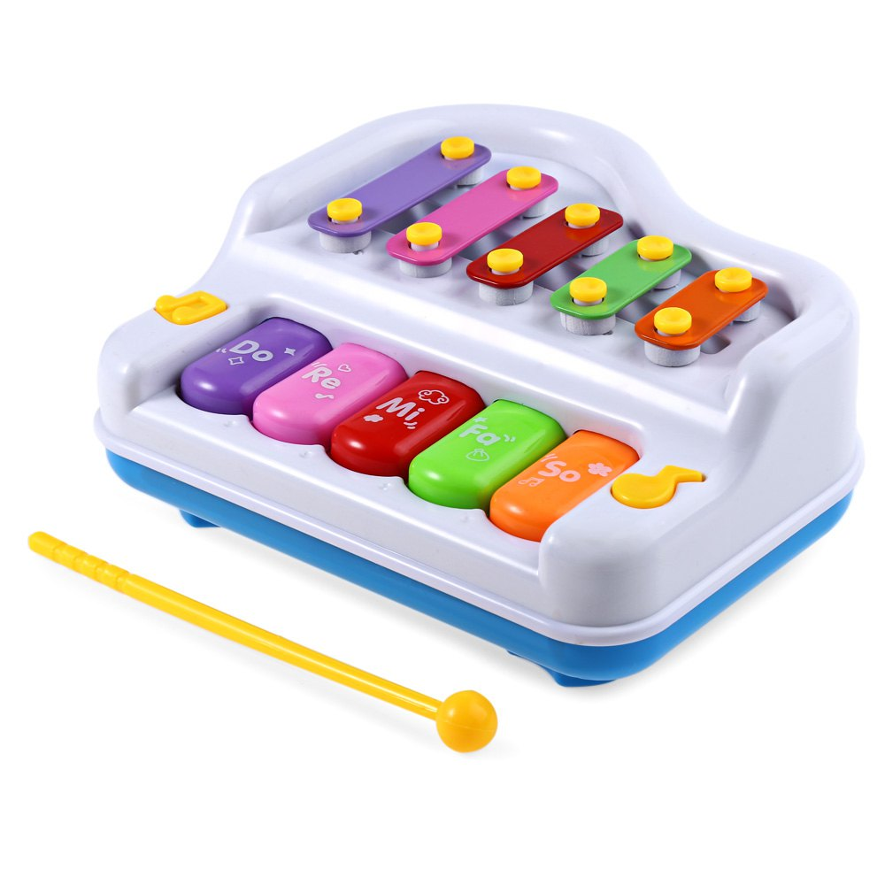 HOT Multi-function Colorful Musical Piano Developmental Cute Baby Piano Child Music Intelligent Instrument Gift Toy