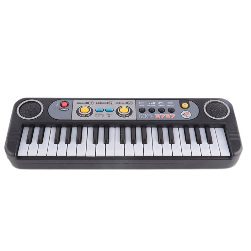 Musical Instruments Gifts Mini 37 Keys Electone Keyboard Toys With Microphone Learning Educational Toys For Children Beginners