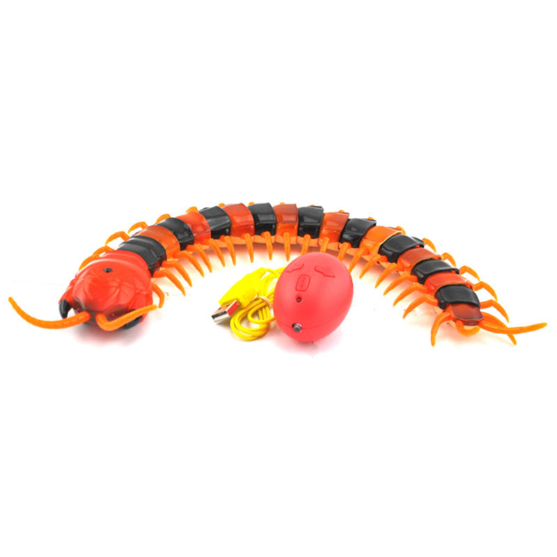 Funny Gadgets Fun Radio Infrared Remote Control Machine Bionic Centipede prank Novelty Gag Toy Children Christmas Birthday Gift