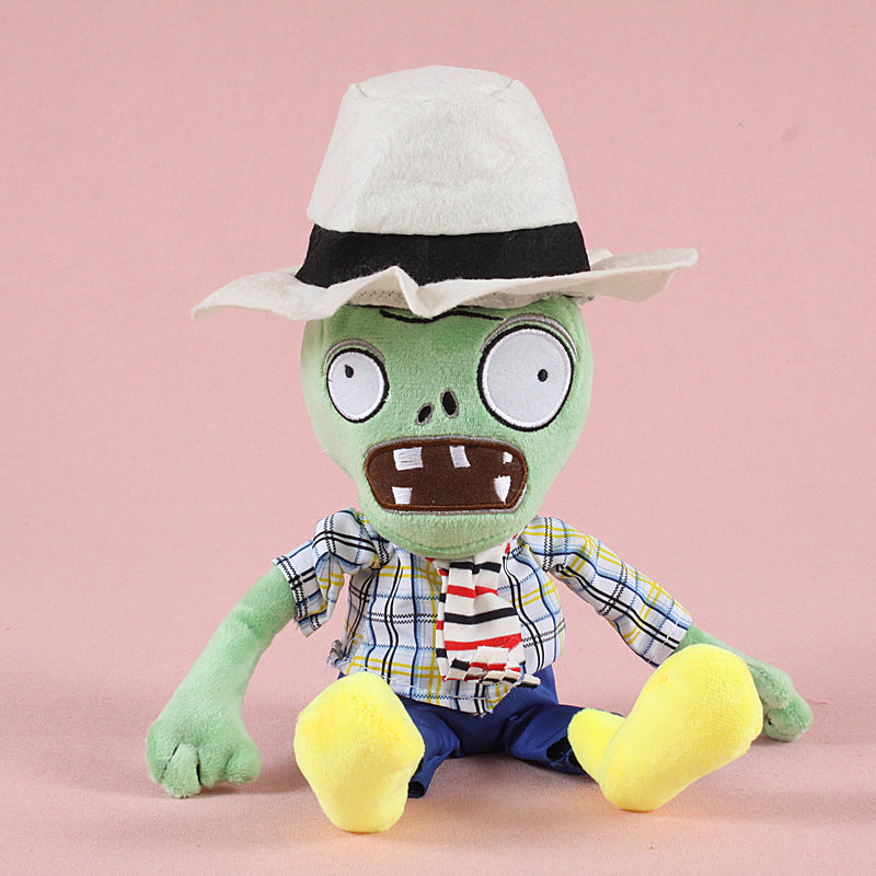2017 New Arrival 30cm Plants vs Zombies Plush Toys Soft Stuffed Toys DIY PVZ Zombies Plush Toy Doll for Kids Children Gifts
