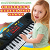 Children Music Toys 37 Keys Electone Mini Electronic Keyboard Musical Toy with Microphone Educational Electronic Piano Toy