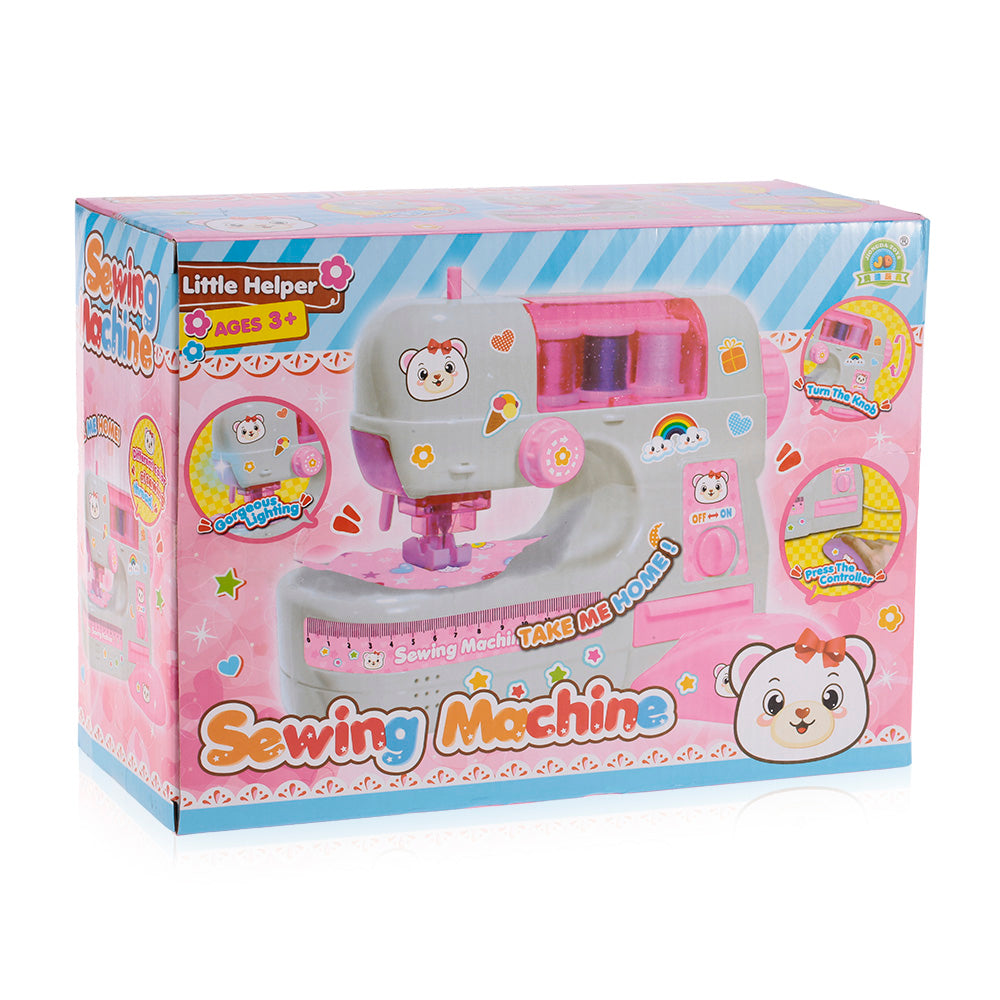 New simulation of electric doll clothes sewing machine small household appliances children playing home gift toys for girls