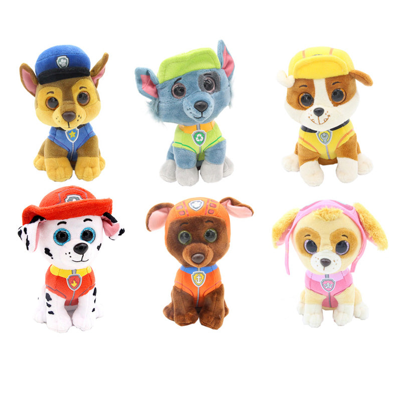 "Ty Beanie Boos Big Eyes 6"" 15cm Puppy Dogs Animal Dolls & Stuffed Toys for Children Stuffed & Plush Animals brinquedos"
