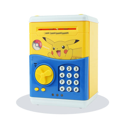 Large Piggy Bank ATM Bank Money Saving Box hello Kitty Password Box Minions Safe Piggy Bank Smart Money Piggy Box Cat Coin Bank
